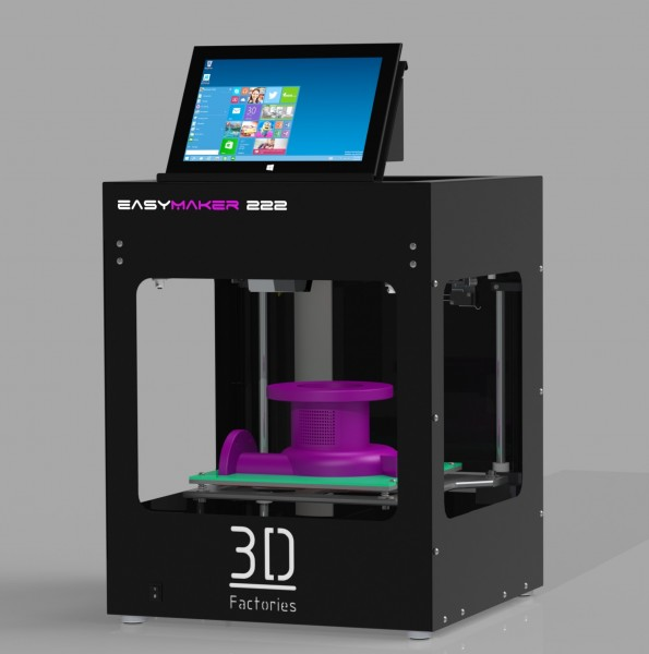 Easy3DMaker 222 inkl. Tablet und Tablethalter